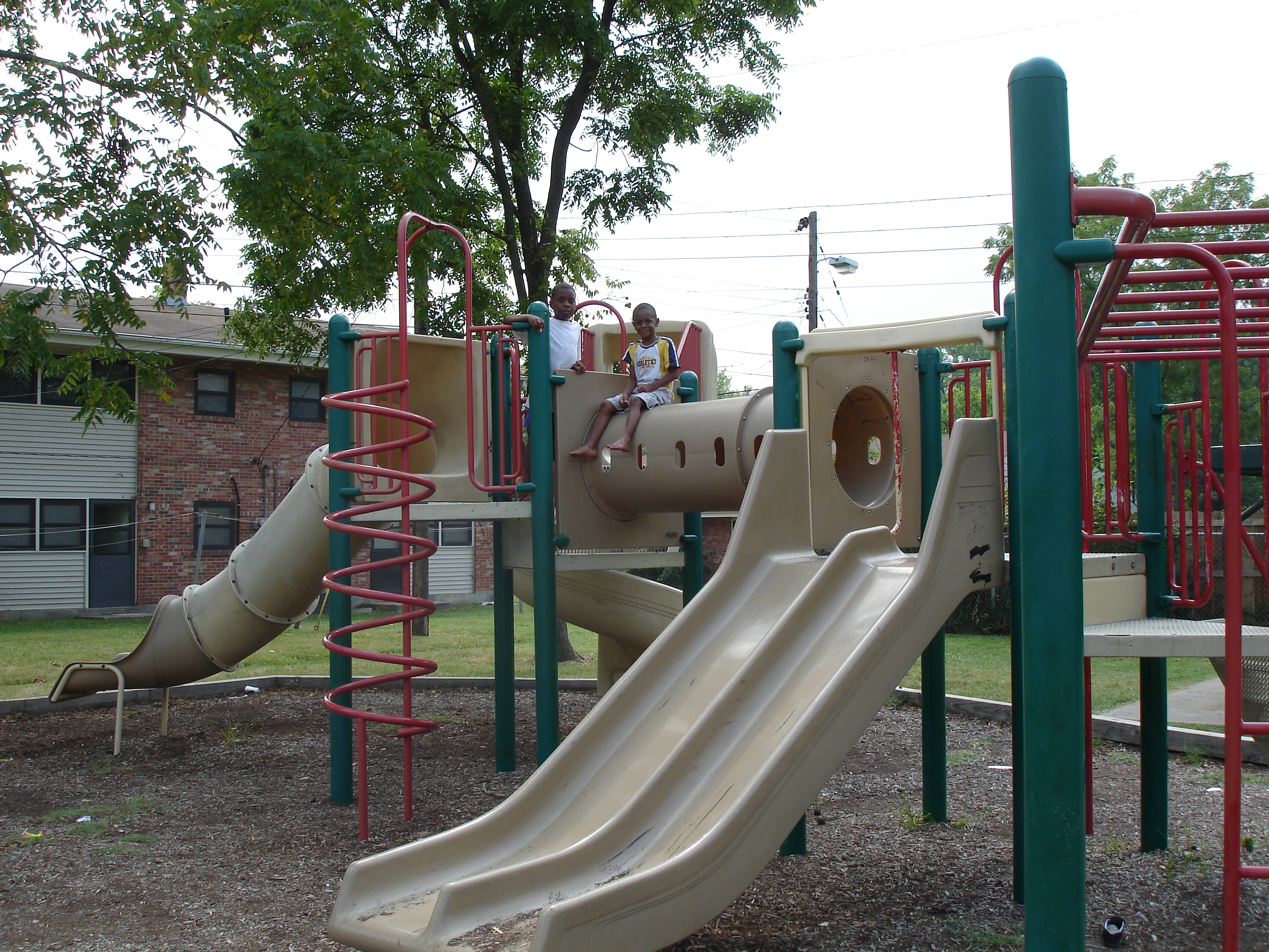 One of CHA's playgrounds